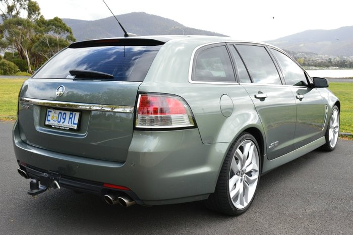 2013 HOLDEN COMMODORE SS V SPORTWAGON REDL VF MY14 PRUSSIAN STEEL