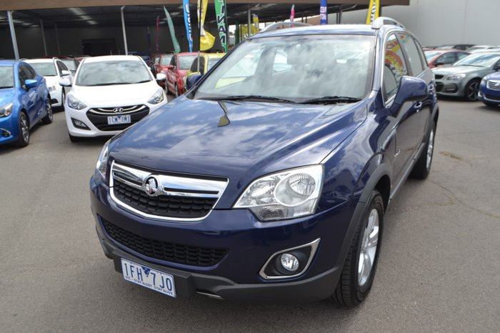 2011 HOLDEN CAPTIVA 5 CG Series II Blue