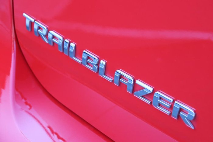 2018 HOLDEN TRAILBLAZER LTZ RG Red