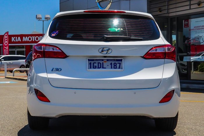 2016 Hyundai i30 GDe4 Series II MY16 White