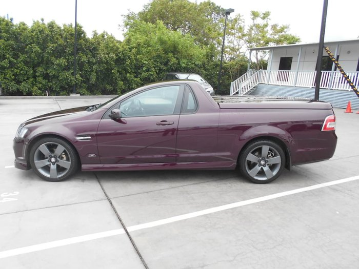2012 HOLDEN UTE SV6 Z Series VE Series II Purple