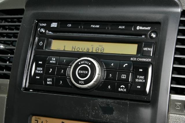 2012 NISSAN NAVARA ST 4x2 D40 S6 MY12 WHITE