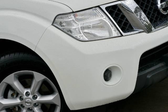 2012 Nissan Navara ST D40 Series 6 WHITE
