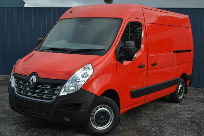 2018 RENAULT MASTER MID ROOF MEDIUM WHEE X62 RED