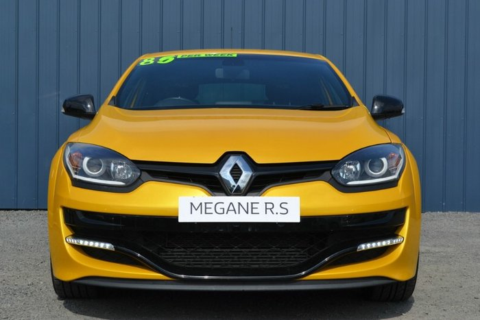 2016 RENAULT MEGANE R.S. 275 CUP III D95 PHASE 2 LIQUID YELLOW