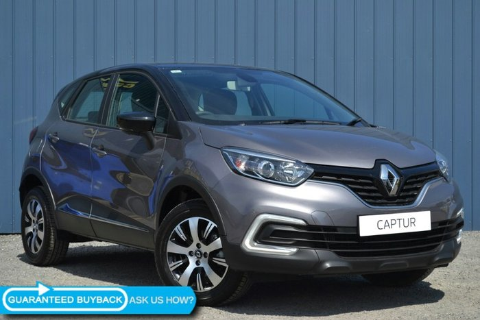 2018 RENAULT CAPTUR ZEN J87 OYSTER GREY/BLACK ROOF