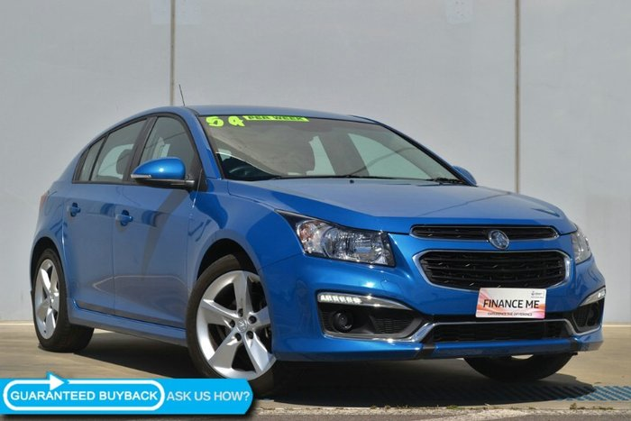 2015 HOLDEN CRUZE SRI-V JH SERIES II MY15 PERFECT BLUE