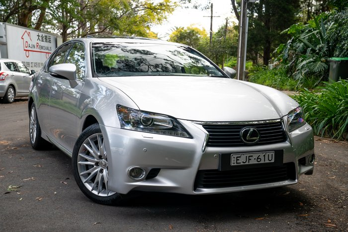 2013 Lexus GS GS350 Sports Luxury GRL10R SONIC SILVER
