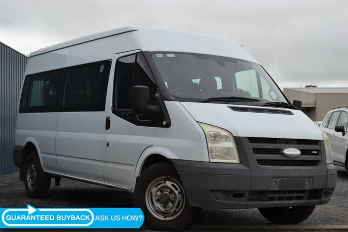 2006 FORD TRANSIT MID ROOF VJ WHITE