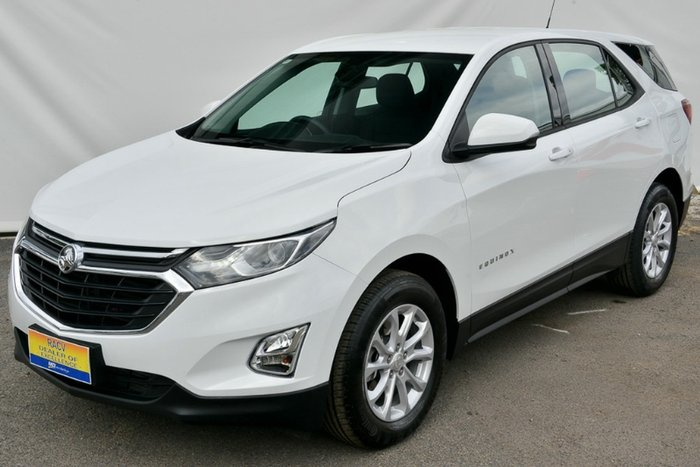 2017 HOLDEN EQUINOX LS EQ MY18 SUMMIT WHITE