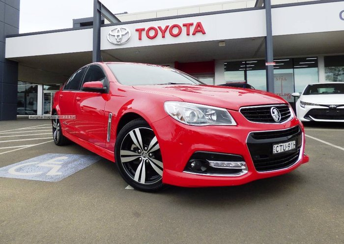 National Capital Toyota 2014 Holden Commodore Sv6 Vf Red For