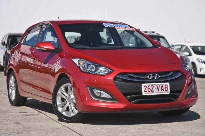 2014 HYUNDAI I30 Trophy GD2 Red