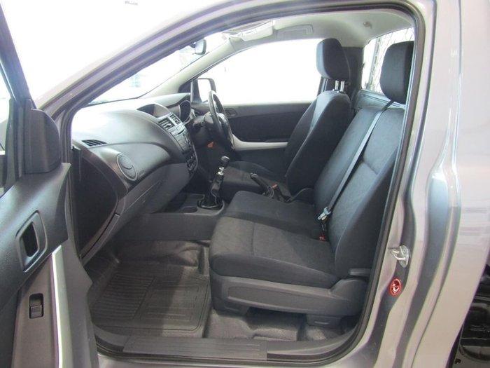 2013 Mazda BT-50 XT UP0YD1 Silver