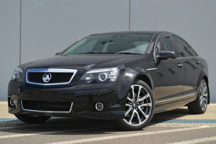 2016 HOLDEN CAPRICE V WN II MY16 PHANTOM BLACK