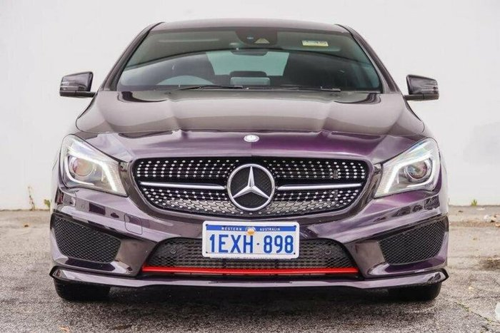 2016 MERCEDES-BENZ CLA250 Sport C117 Purple