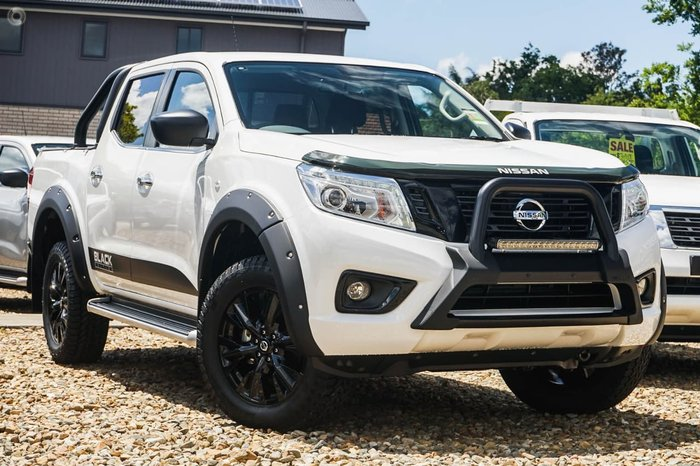 2018 NISSAN NAVARA ST Black Edition D23 Series 3 White