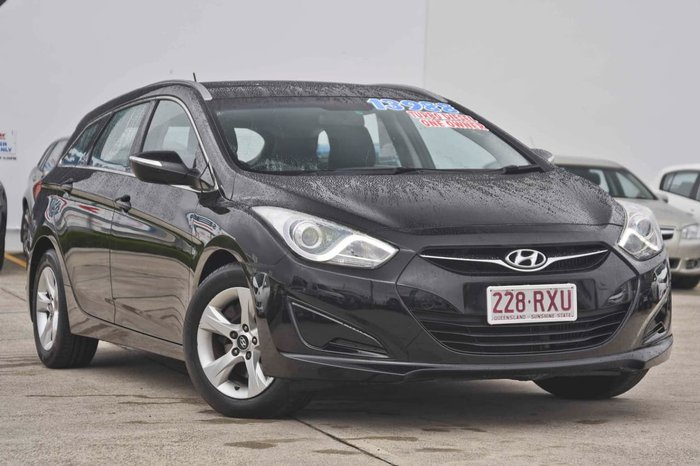 2011 HYUNDAI I40 Active VF Black
