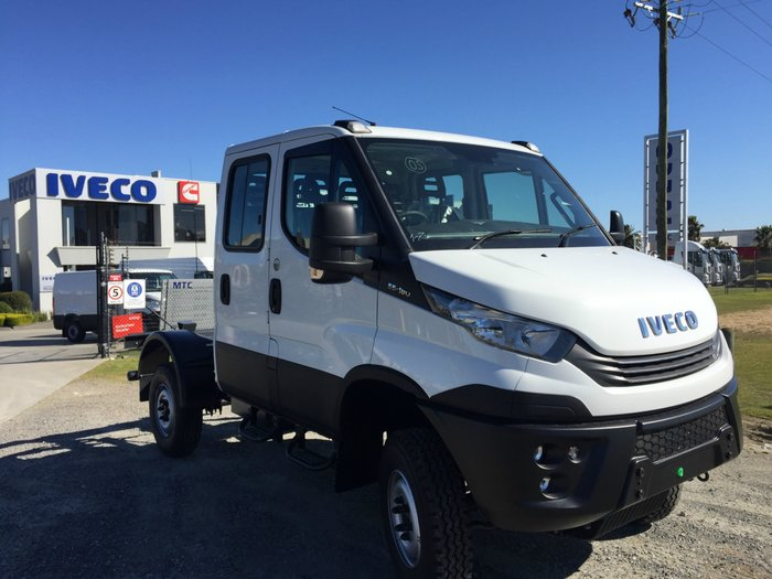 2018 Iveco Daily 55 S17 55S18HDW Dual 4x4 White