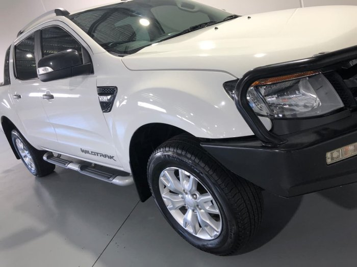 2013 FORD RANGER Wildtrak PX White