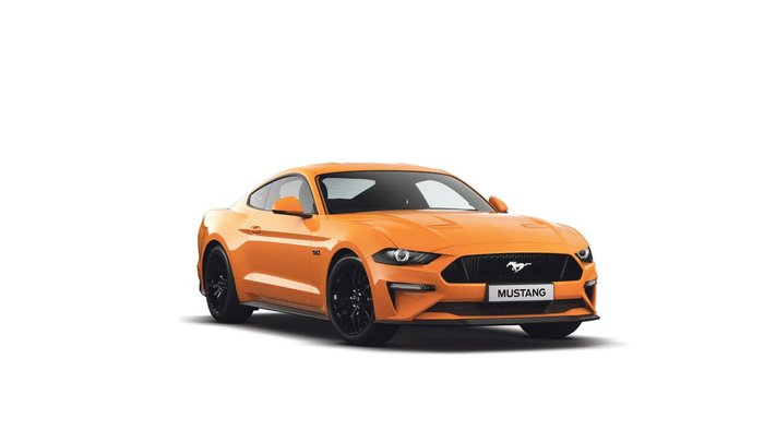 2018 FORD MUSTANG GT FN Orange Fury