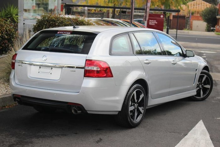 2017 HOLDEN COMMODORE SV6 VF Series II Silver