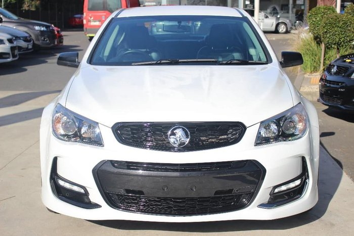 2017 HOLDEN COMMODORE SV6 VF Series II White