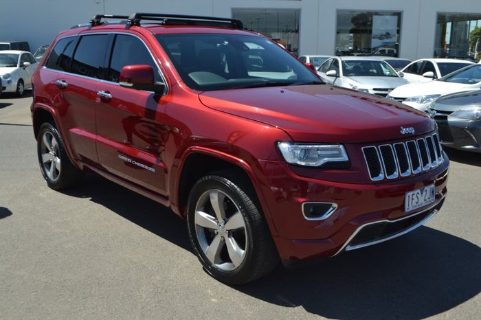 2015 JEEP GRAND CHEROKEE Overland WK Red