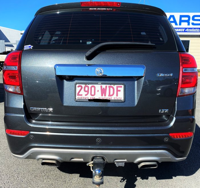 2015 Holden Captiva LTZ CG MY16 4X4 On Demand GREY