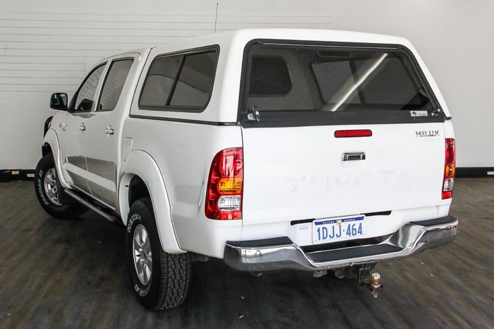 2010 Toyota Hilux SR5 GGN25R MY10 4X4 White