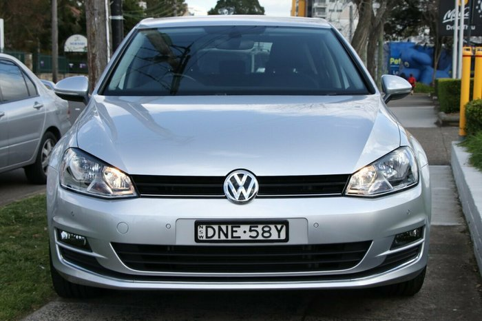 2016 Volkswagen Golf 110TSI Highline VII MY17 SILVER
