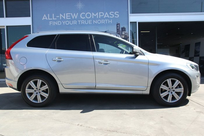 2017 Volvo XC60 T5 Luxury MY17 Four Wheel Drive SILVER