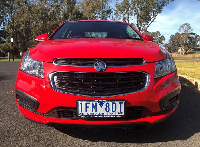 2015 Holden Cruze Equipe JH Series II MY15 GHY-RED HOT