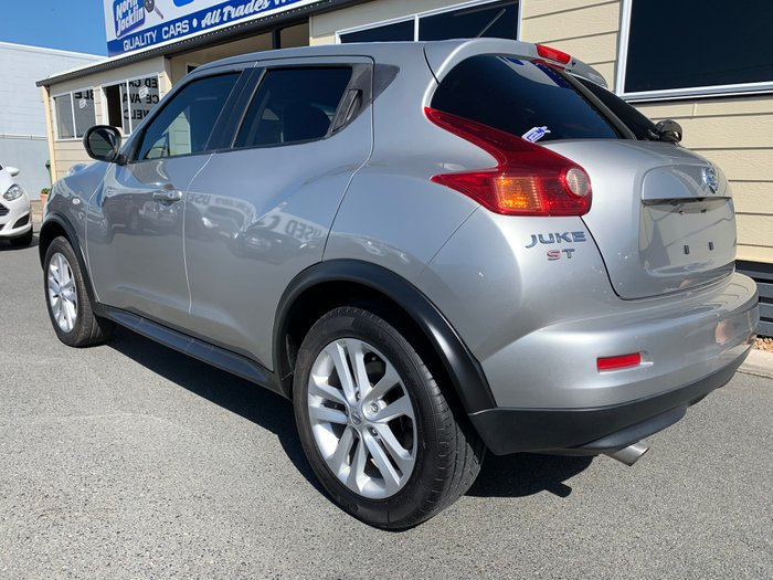 2013 Nissan JUKE Ti-S F15 MY14 4X4 On Demand SILVER