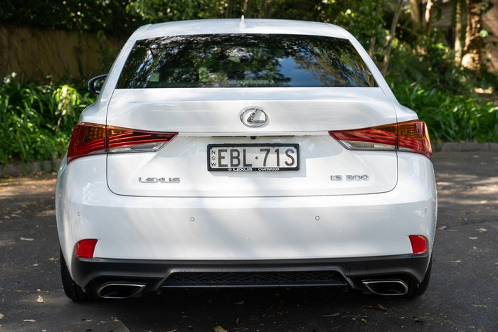2019 Lexus IS IS300 F Sport ASE30R WHITE NOVA