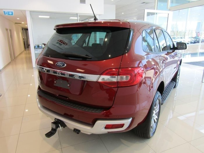 2017 Ford Everest TREND UA Red