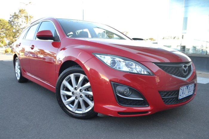2012 MAZDA 6 Touring GH Series 2 Red