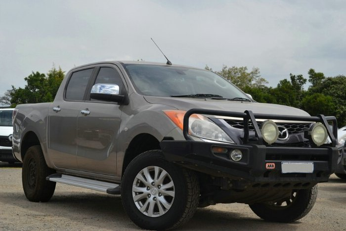 2011 MAZDA BT-50 GT DUAL CAB UP0YF1 GOLD