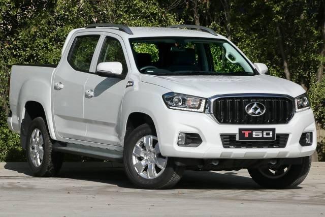 2018 LDV T60 PRO DUAL CAB SK8C WHITE BLANC