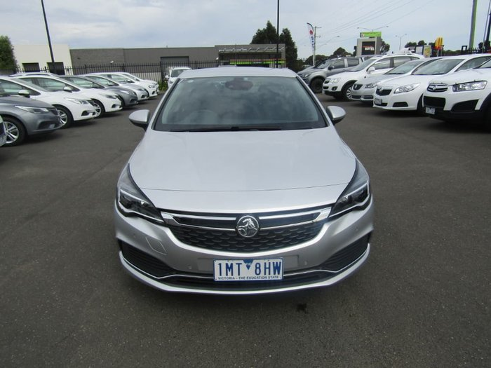 2017 HOLDEN ASTRA RS BK Silver