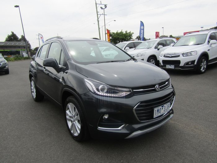 2017 HOLDEN TRAX LT TJ Grey