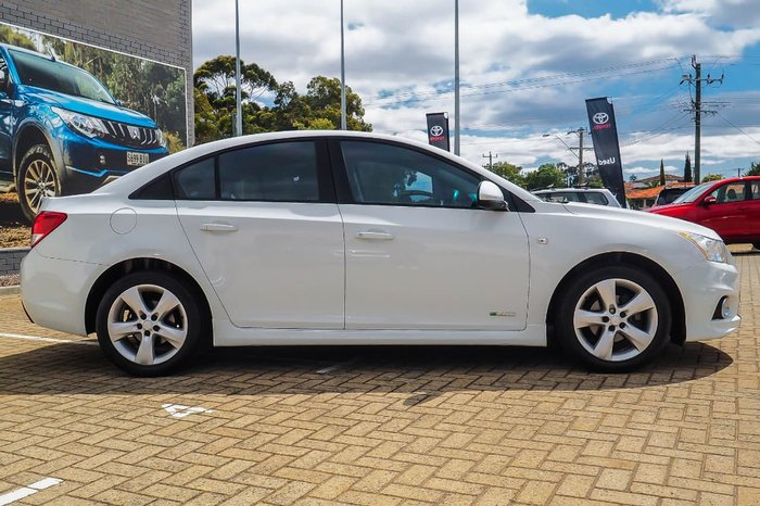2012 HOLDEN CRUZE SRi JH Series II White