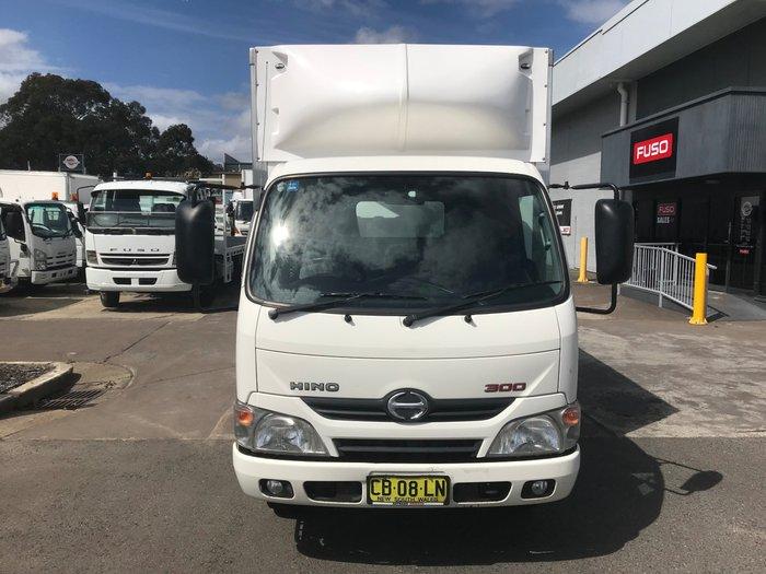 2014 Hino 616 - 300 Series DUTRO 616-300 series WHITE