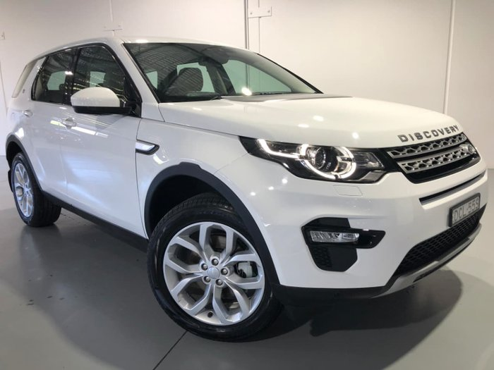 2015 LAND ROVER DISCOVERY SPORT SD4 HSE L550 White