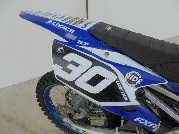 2018 Yamaha YZ250F BLUE