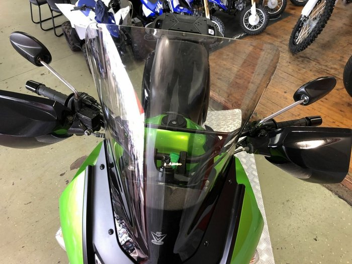 2014 Kawasaki KLR650 (KL650) Green