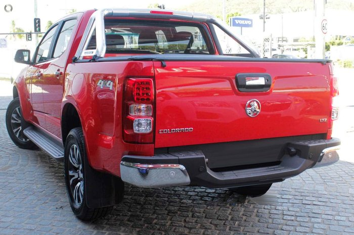 2018 HOLDEN COLORADO LTZ RG Red