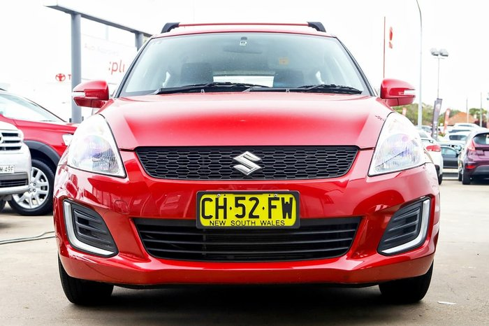 2016 SUZUKI SWIFT GL FZ Red