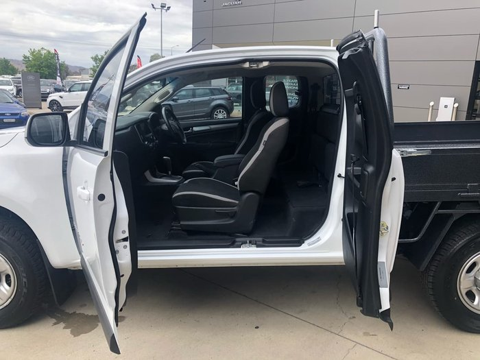 2017 Holden Colorado LS RG MY17 White