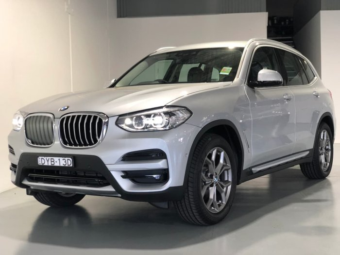 2018 BMW X3 xDrive20d G01 4X4 Constant Silver