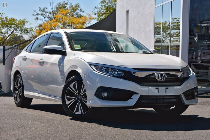 2018 HONDA CIVIC VTi-L 10th Gen White
